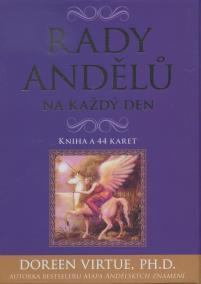 Rady andělů na každý den - kniha a 44 ka