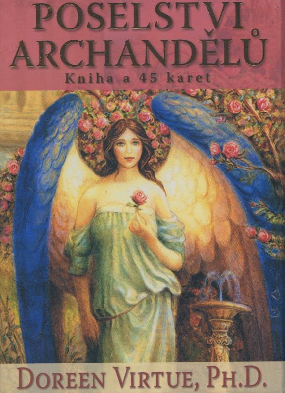 Kniha: Poselství Archandělů - kniha  a 45 karet - Doreen Virtue