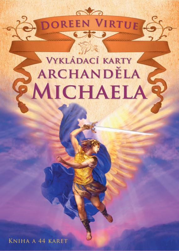 Kniha: Vykládací karty archanděla Michaela - Doreen Virtue