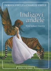 Indigoví andělé - kniha + 44 karet