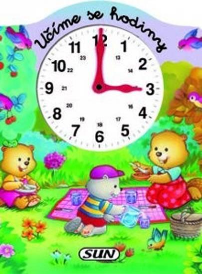 Kniha: Učíme se hodiny - pěnová knihaautor neuvedený