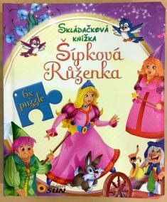 Skládačková knížka - Šípková Růženka