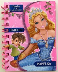 Pinocchio / Popelka - Pohádky a hry o princeznách