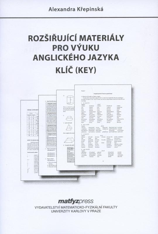 Kniha: Rozšiřující materiály pro výuku angl. jazyka - Klíč (Key) - Alexandra Křepinská