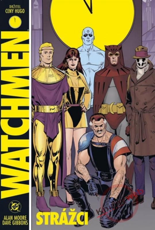 Kniha: Strážci - Watchmen - 2.vydání - Moore, Dave Gibbons  . Alan
