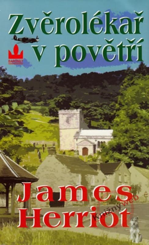 Kniha: Zvěrolékař v povětří - 2.vydání - Herriot James