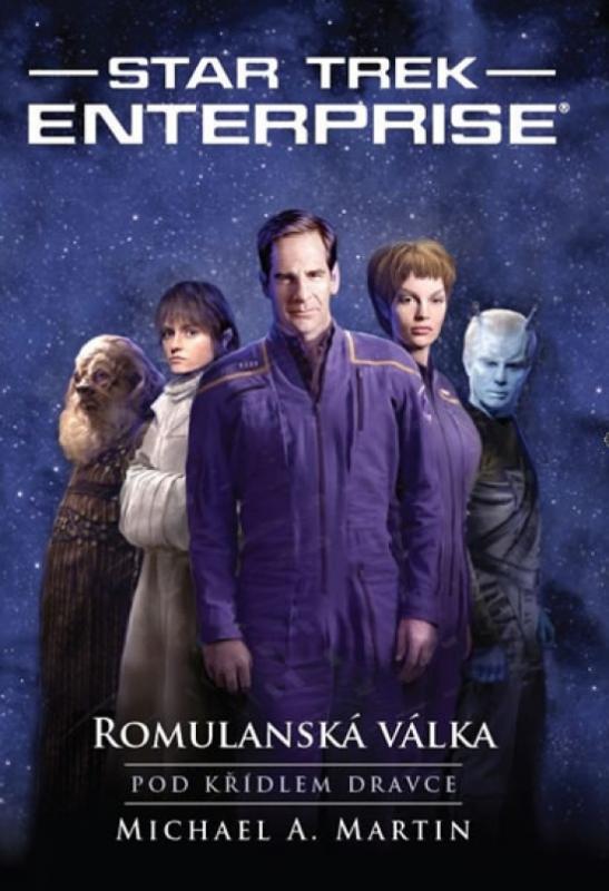 Kniha: Star Trek – Romulanská válka – Pod křídlem dravce - Martin Michael A.