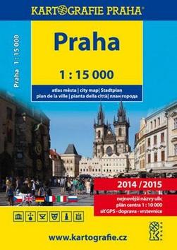 Kniha: Praha atlas města 2014/2015autor neuvedený