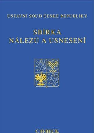Kniha: Sbírka nálezů a usnesení ÚS ČR, svazek 51 - Ústavní soud ČR