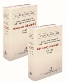 Občiansky zákonník I a II. zväzok. Komentár (2. vydanie)