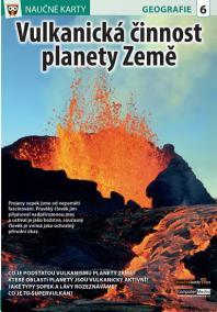 Vulkanická činnost planety Země - Naučná karta