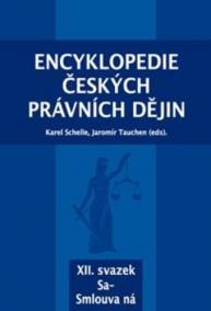 Encyklopedie českých právních dějin, XII. svazek Sa - Smlouva ná