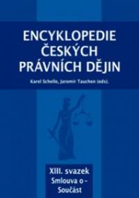 Encyklopedie českých právních dějin, XIII. svazek Smlouva o - Součást