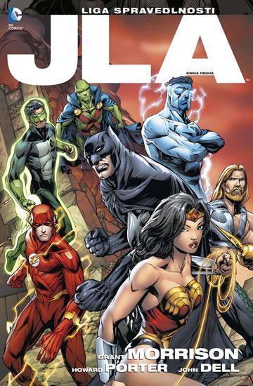 Kniha: JLA 2 – Liga spravedlnosti - Morrison, Porter Howard Grant