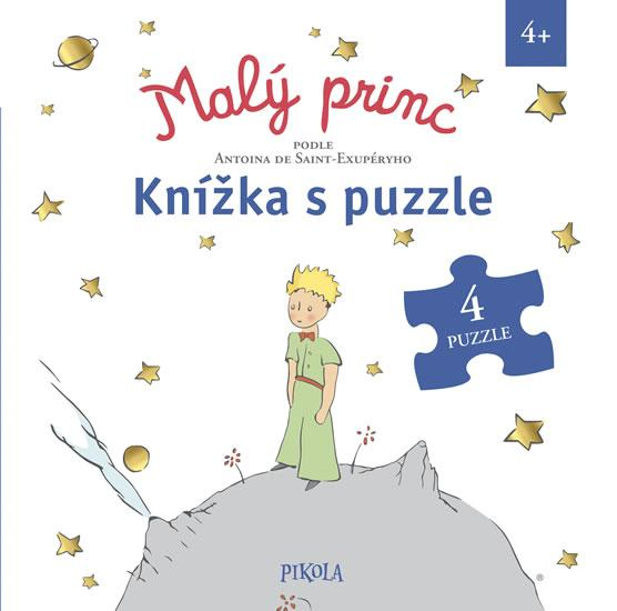 Kniha: Malý princ – knížka s puzzle - de Saint-Exupéry Antoine, Spechtová Florentine
