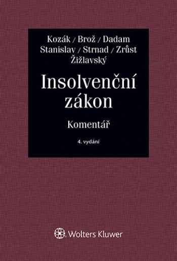 Kniha: Insolvenční zákon. Komentář - 4. vydání - JAN