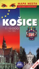 Mapa mesta Košice 1:15 000