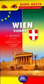 Mapa mesta Viedeň 1:25 000