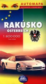 Automapa Rakúsko 1:600 000
