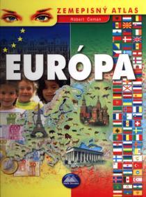 Európa - zemepisný atlas