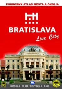 Bratislava a okolie 1:10 000