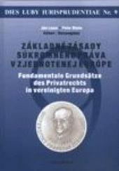 Základné zásady súkromného práva v zjednotenej Európe