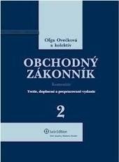 Obchodný zákonník - komentár (2012)