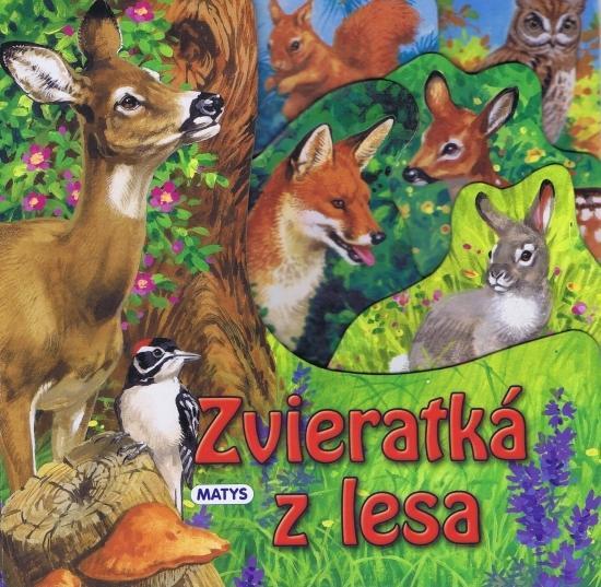 Zvieratká z lesa - leporelo