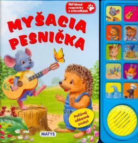 Myšacia pesnička - zvuková knižka