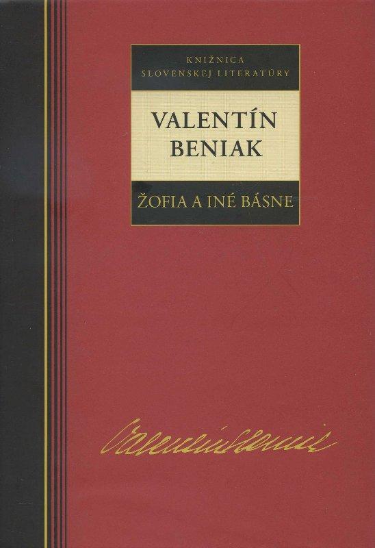 Kniha: Žofia a iné básne - Beniak Valentín