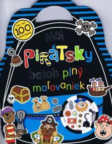 Môj pirátsky batoh plný maľovaniek