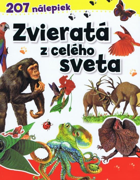 Kniha: Zvieratá z celého sveta - 207 nálepiekautor neuvedený