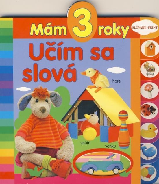 Mám 3 roky - Učím sa slová