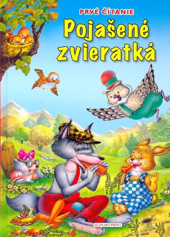 Kniha: Pojašené zvieratká - Prvé čítanie.autor neuvedený