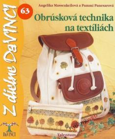 Obrúsková technika na textíliách – Z dielne DaVINCI 63