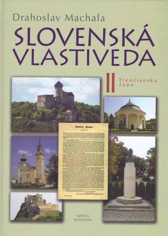 Slovenská vlastiveda II - Trenčianska župa