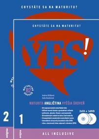YES! Angličtina - maturita - vyššia úroveň + 2CD + DVD (B2)