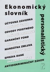 Kniha: Ekonomický a personalistický slovník - Kolektív autorov
