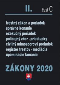 ZÁKONY 2020 II/C - Trestné zákony - úplné znenie k 1.1.2020