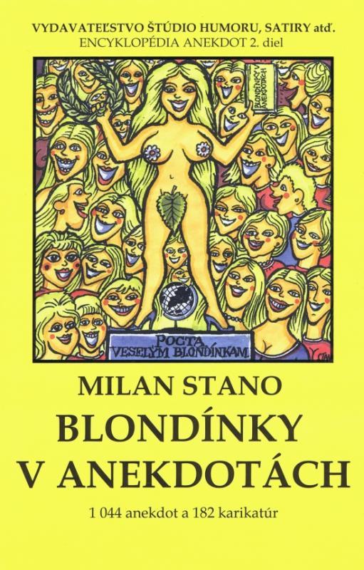 Kniha: Blondínky v anekdotách - Stano Milan