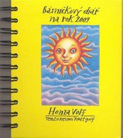 Kniha: Básničkový diář na rok 2009 - Honza Volf