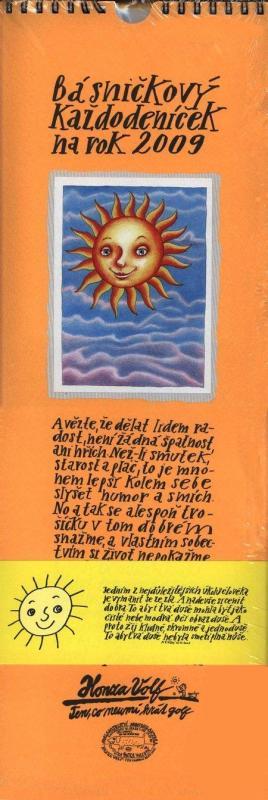 Kniha: Básničkový každodeníček na rok 2009 - Honza Volf
