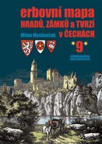 Erbovní mapa hradů, zámků a tvrzí v Čechách 9
