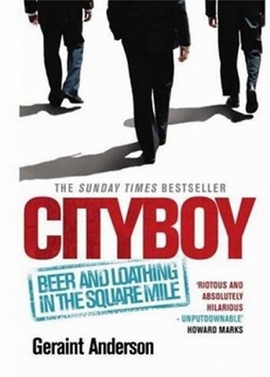 Kniha: Cityboy - Geraint Anderson