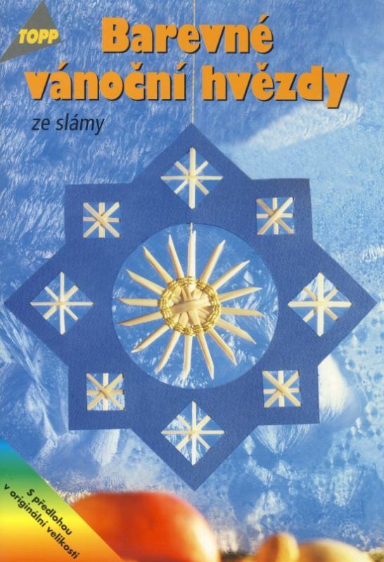 Barevné vánoční hvězdy ze slámy - TOPP