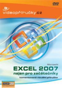Videopříručka Excel 2007 nejen pro začátečníky - DVD