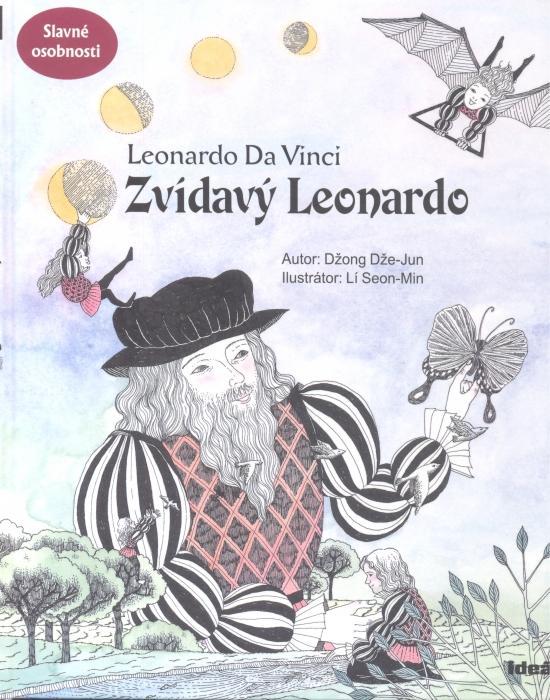 Kniha: Zvídavý Leonardo-Slavné osobnosti - Džong Dže-Jun
