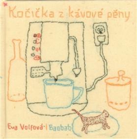 Kočička z kávové pěny