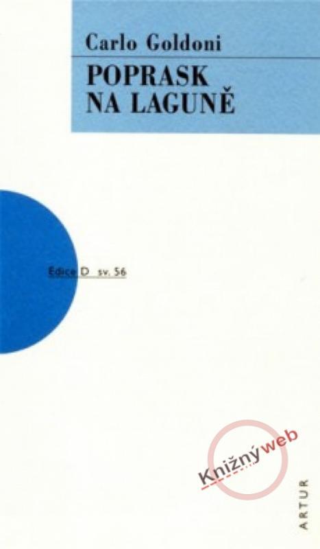 Kniha: Poprask na laguně - Goldoni Carlo
