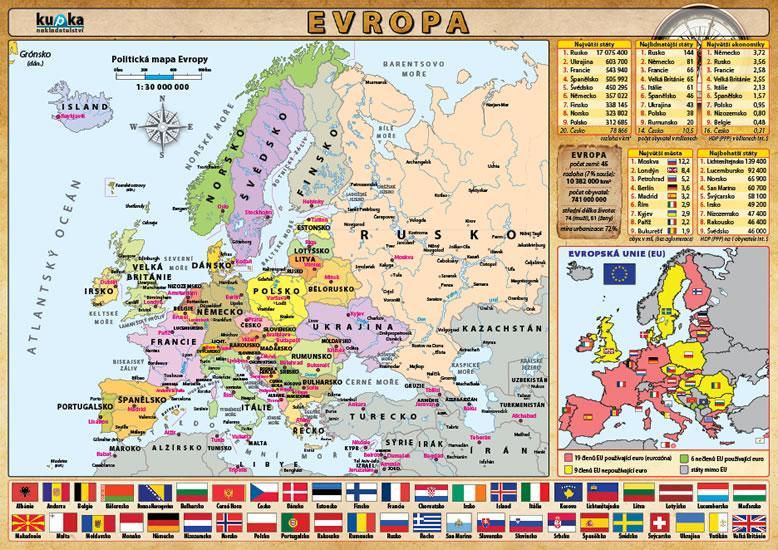 Kniha: Evropa - Kupka Petr